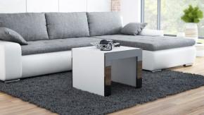 Tess - Konferenčný stolík štvorec (biela, čierna)