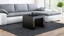 Tess - Konferenčný stolík štvorec (čierna)