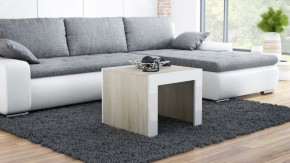 Tess - Konferenčný stolík štvorec (dub, biela)