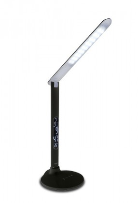 Tessa - Stolná lampička, 27LED, 10W  (čierna)