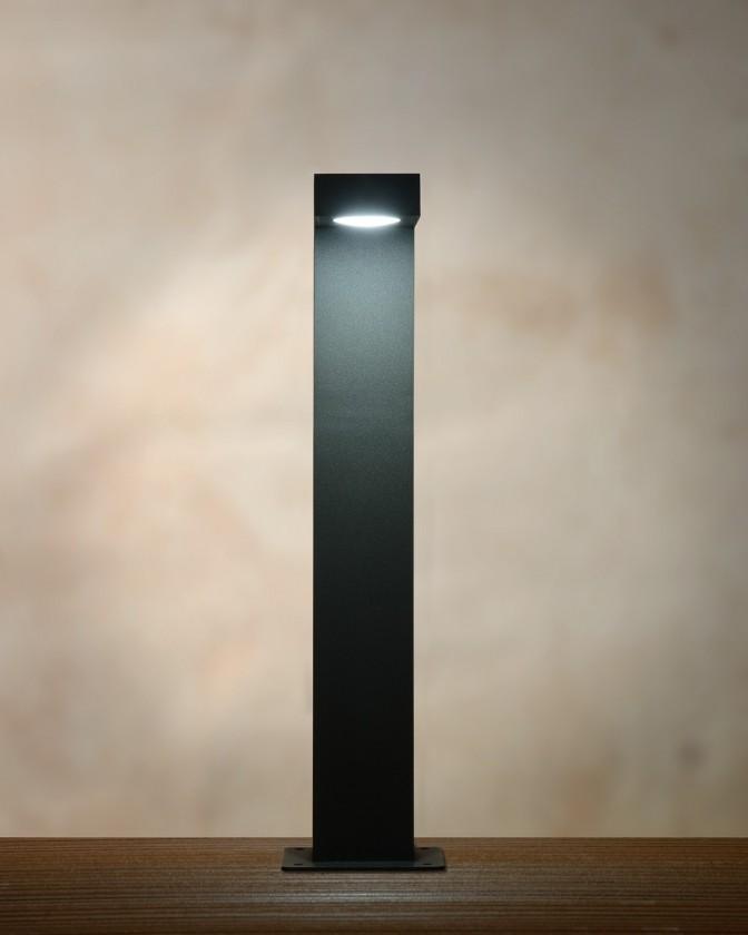 Texas - venkovní osvětlen, 6W, LED, 40 cm (čierna)