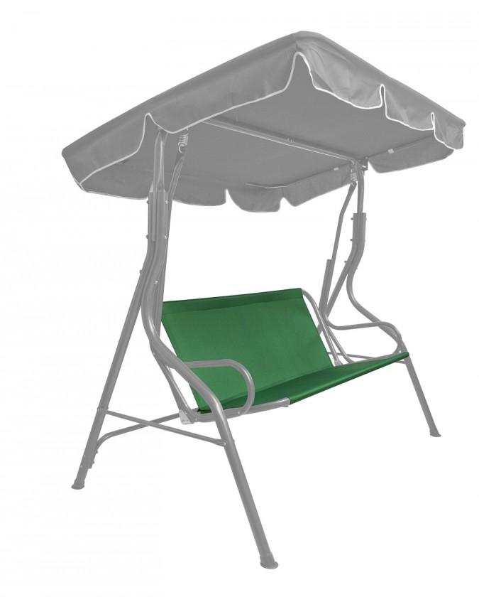 Textilný sedák na hojdačku (zelená)