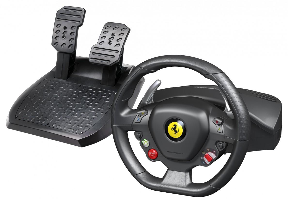 Thrustmaster Ferrari 458 Italia Xbox 360 a PC 4460094 ROZBALENÉ