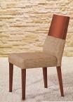 Timoteo - Jedálenská stolička (čerešňa/béžová)
