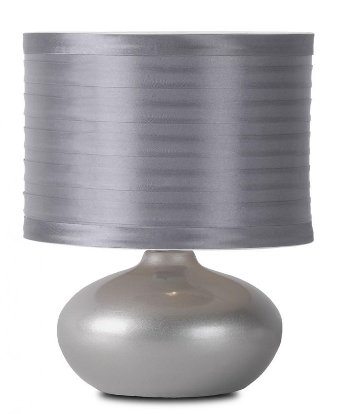 Tina - lampička, 40W, E14 (strieborná)