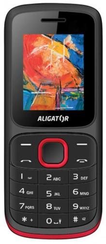 Tlačidlový telefón ALIGATOR D210 Dual sim, čierna