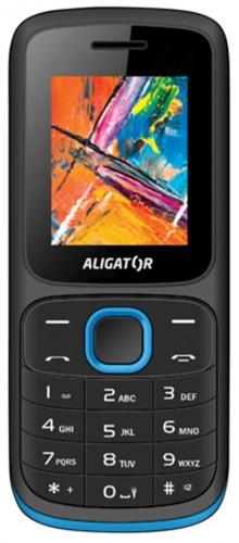 Tlačidlový telefón ALIGATOR D210 Dual sim, modrá