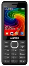 Tlačidlový telefón Aligator D940 DS, čierna