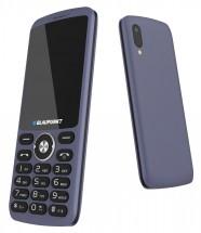 Tlačidlový telefón Blaupunkt FL 07, modrý