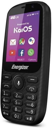 Tlačidlový telefón Energizer Energy E241S LTE, WiFi, GPS, čierna
