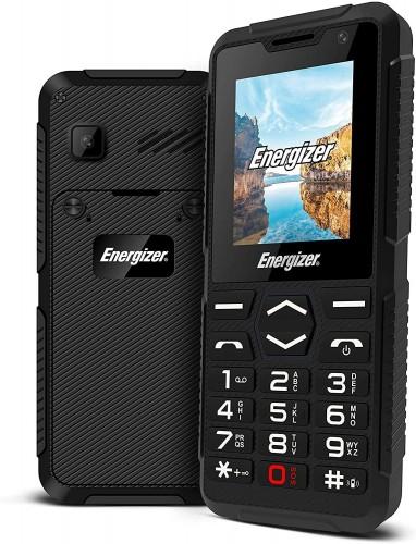 Tlačidlový telefón Energizer Hardcase H10, čierna