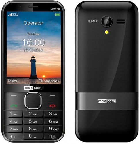 Tlačidlový telefón Maxcom Classic MM 330 3G