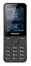 Tlačidlový telefón Maxcom Classic MM139 Banana, čierna