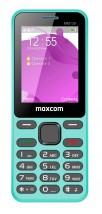Tlačidlový telefón Maxcom Classic MM139 Banana, modrá