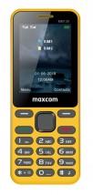 Tlačidlový telefón Maxcom Classic MM139 Banana, žltá