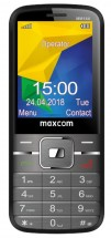 Tlačidlový telefón Maxcom Classic MM144, čierna