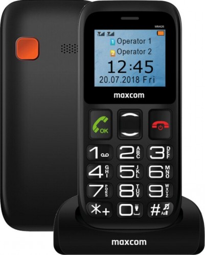 Tlačidlový telefón Maxcom Comfort MM 426
