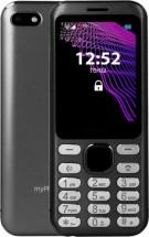 Tlačidlový telefón myPhone Maestro, čierna