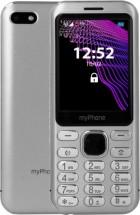 Tlačidlový telefón myPhone Maestro, strieborná