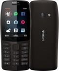Tlačidlový telefón Nokia 210 DS, čierna