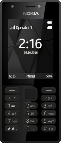 Tlačidlový telefón Nokia 216 DS, čierna