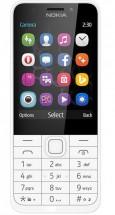 Tlačidlový telefón Nokia 230 Dual SIM, biela