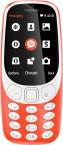 Tlačidlový telefón Nokia 3310 2017, červená