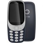 Tlačidlový telefón Nokia 3310 (2017), modrá