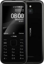 Tlačidlový telefón Nokia 8000 4G, čierna