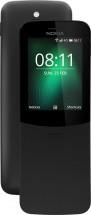 Tlačidlový telefón Nokia 8110, čierna, ZÁNOVNÉ