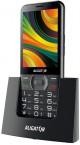 Tlačidlový telefón pre seniorov Aligator A900, čierna