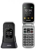 Tlačidlový telefón pre seniorov Aligator V650, čierna