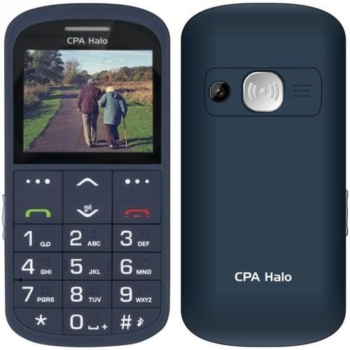 Tlačidlový telefón pre seniorov CPA Halo 11 Pro, modrá