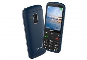 Tlačidlový telefón pre seniorov CPA Halo 18, modrá