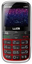 Tlačidlový telefón pre seniorov Winner WG15, červená