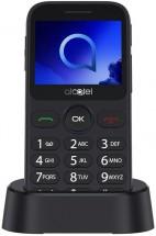 Tlačítkový telefon pro seniory Alcatel 2019G, stříbrná