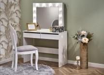 Toaletný stolík Celia (biela)