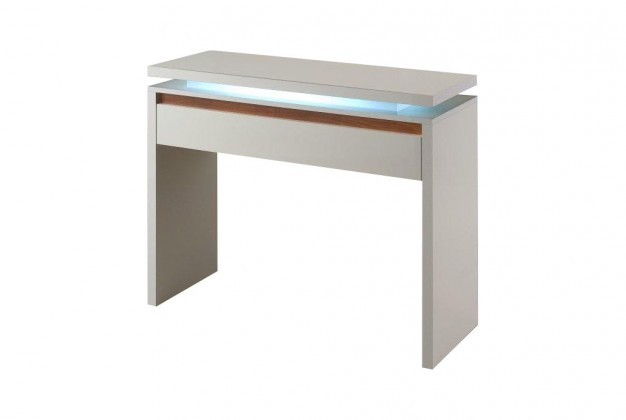 Toaletný stolík Diva - Toaletný stolík (biela/orech)