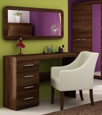 Toaletný stolík Link - Toaletný stolík (dub chocolate)