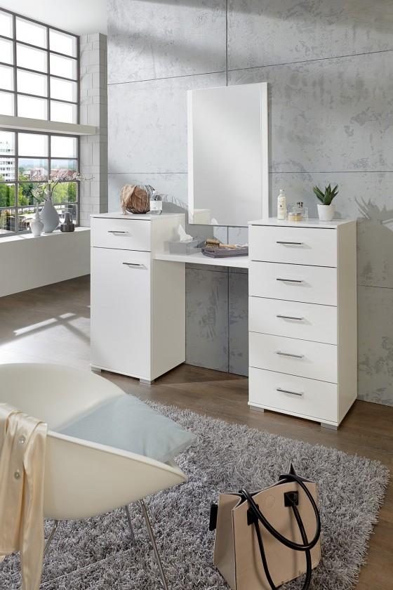 Toaletný stolík Toaletný stolík Pamela (alpská biela)