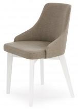 Toledo - Jedálenská stolička (masív buk biela, látka)