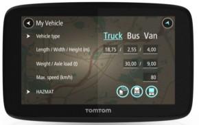 TomTom GO Professional 520 EU, Lifetime (1PN5.002.07) čierna