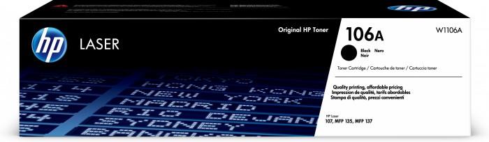 Toner HP W1106A, 106A, Black Laser