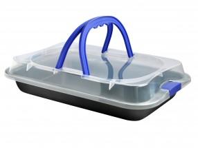Toro plech na pečení s plastovým víkem 23x36x4 5 cm 390125