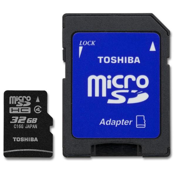 Toshiba microSDHC s adaptérom 32GB
