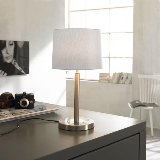 Toulouse - Lampička, LED (matný nikel)
