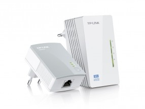 TP-LINK TL-WPA4220KIT Powerline adaptéry, 500Mbps, WiFi, set TL-W