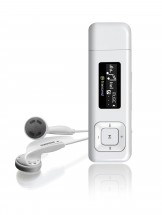 Transcend MP330 8 GB, biela POUŽITÝ, NEOPOTREBOVANÝ TOVAR