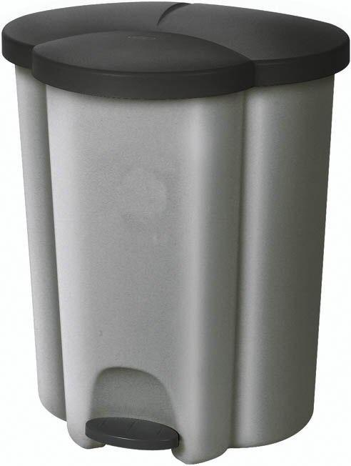 TRIO (plast,strieborná)