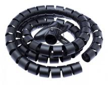 Trubica pre vedenie káblov WINDER Connect IT CI515, 1,5m, čierna